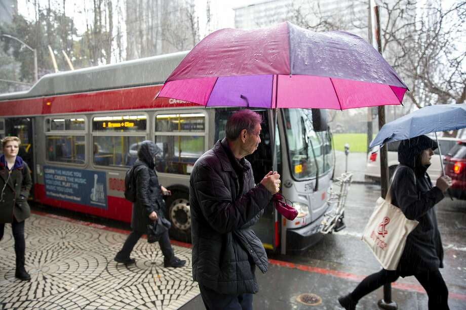 Storm sweeps Bay Area: 'The heaviest rainfall has come and gone for the city'