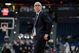 UConn head coach Dan Hurley.