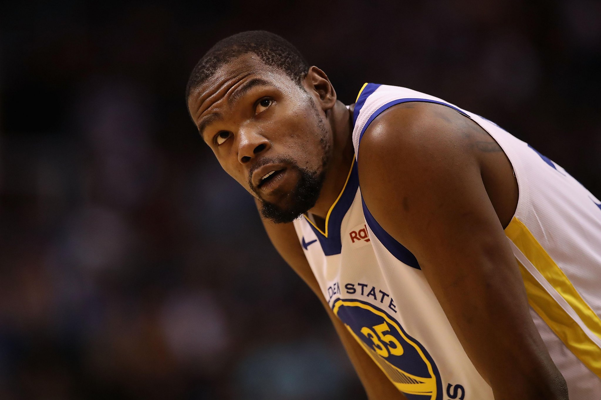7be13cf0e384 Warriors mailbag  Did Kevin Durant violate any rules by not speaking to  media