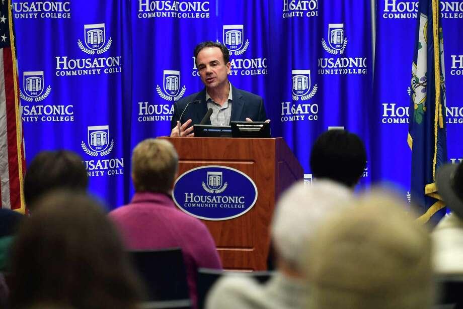Bridgeport Mayor Joe Ganim. Photo: Erik Trautmann / Hearst Connecticut Media / Norwalk Hour