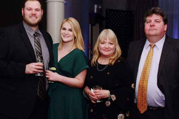 Bryan Hamilton, Carly Hamilton, Adria Patrick and Kevin Patrick attended The Greater New Milford Chamber of Commerce 21st annual Crystal Winter Gala on Saturday February 9, 2019 at the Amber Room Colonnade in Danbury.