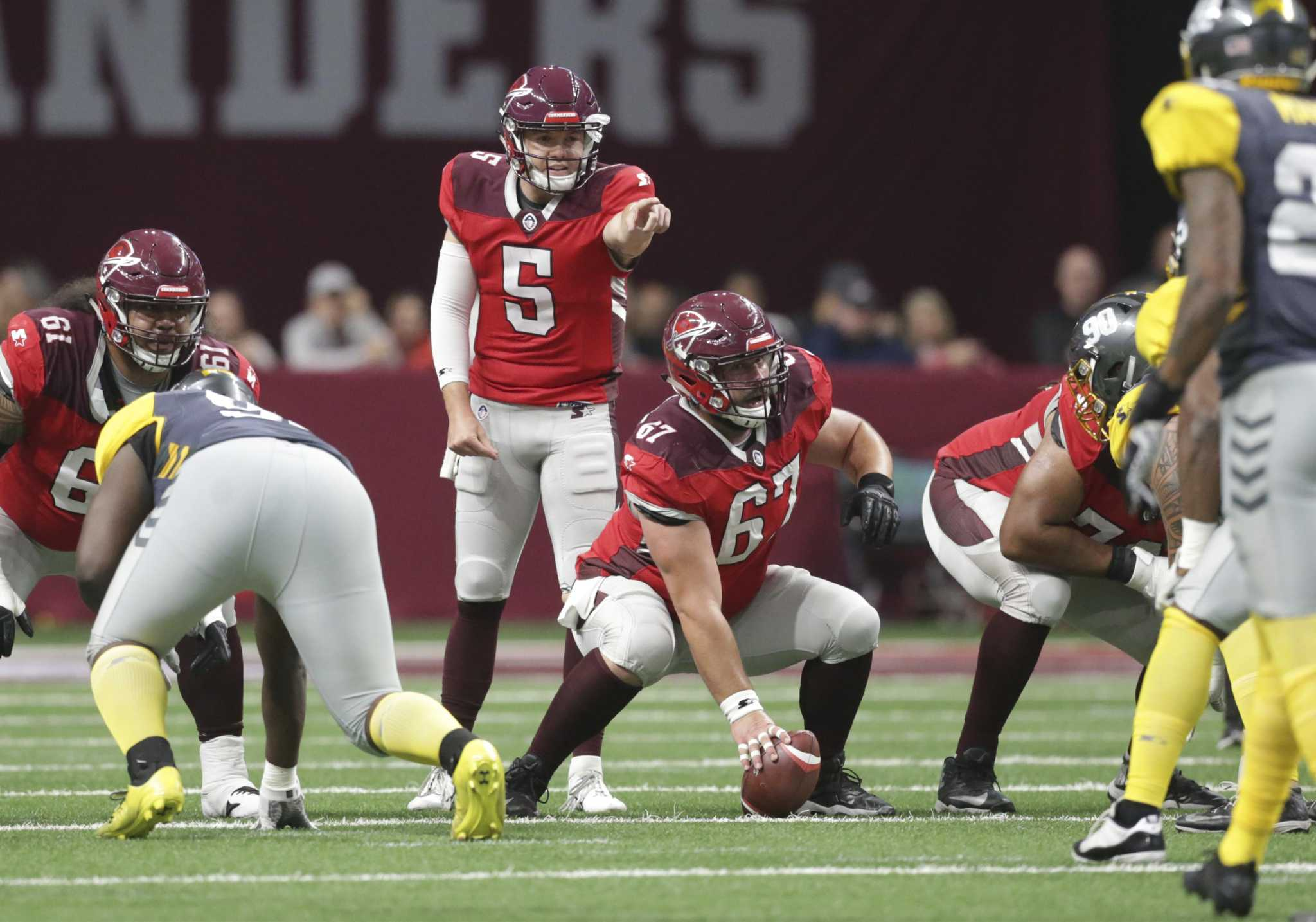 Woodside shows well in San Antonio Commanders debut, but competition remains