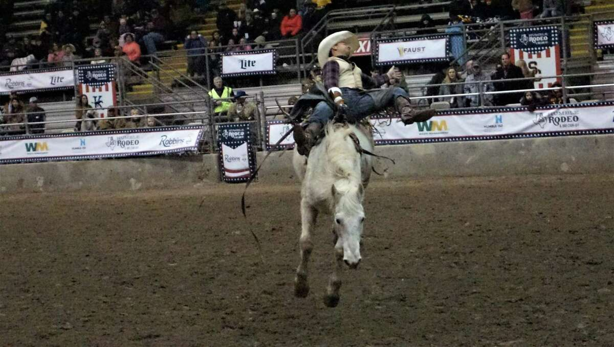 Riders at the 72nd Humble Rodeo & BBQ Cook-Off from Feb. 1 to Feb. 9, 2019 are both from Texas, such as Humble, Stephenville or College Station, or in other states like Oklahoma and Florida.