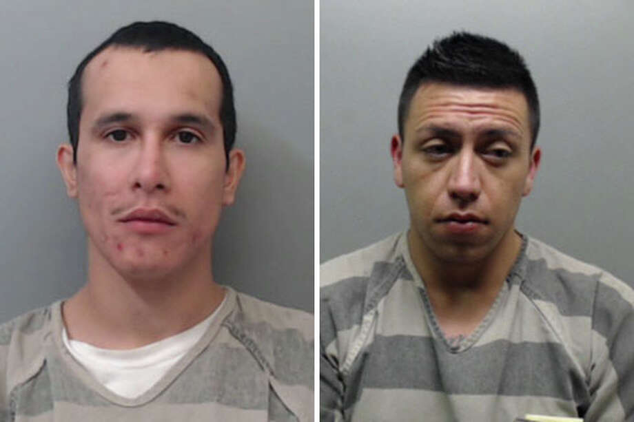 On Thursday, Roberto Rodriguez and Fabian Vazquez, both 28, were served with an arrest warrant that charged them with theft. Each was already behind bars for unrelated cases, records show. Photo: Courtesy