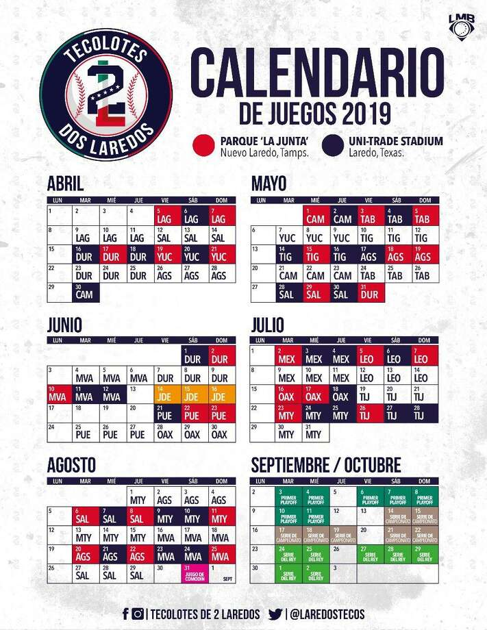 The Tecolotes Dos Laredos announced their 2019 Mexican Baseball League schedule on Saturday night. Photo: Courtesy Of The Tecolotes Dos Laredos