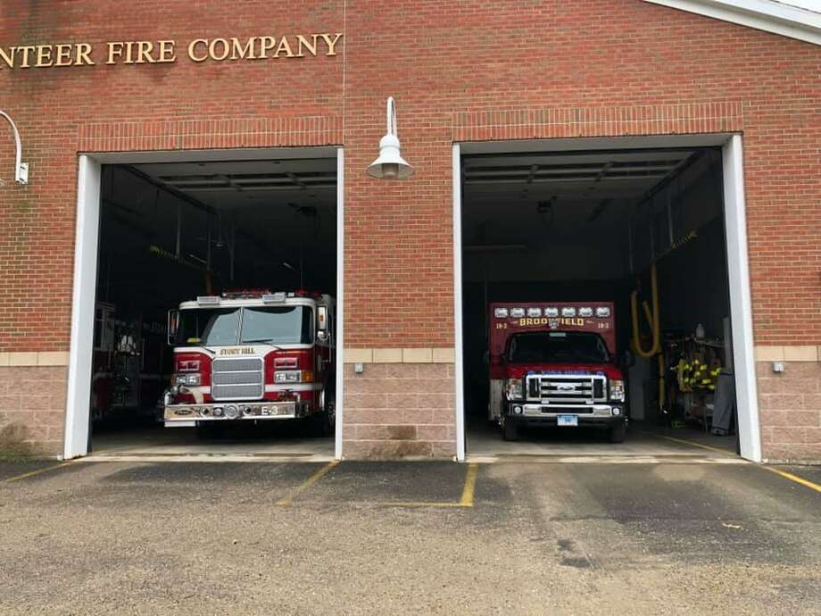 The Stony Hill Volunteer Fire Company in Bethel is borrowing an ambulance from the Brookfield Volunteer Fire Company while Bethel's is being repaired. Photo: / Brookfield Volunteer Fire Company's Facebook /Contributed Photo