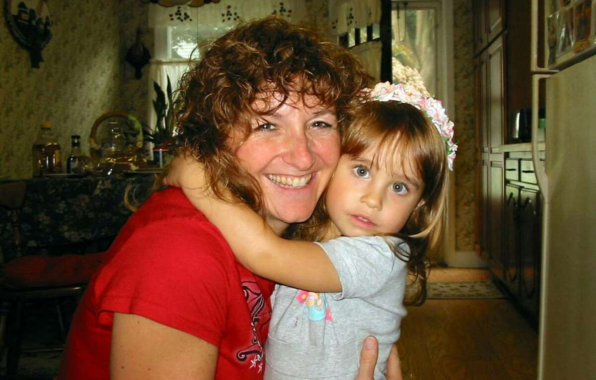 Sharon Cunningham, 47, a former Danbury resident who was killed on July 12 in a workplace shooting in Albuquerque, N.M., with her daughter, Caitlin, 6.