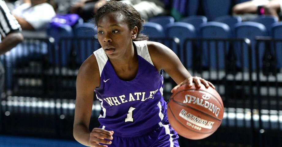 In a 56-point game in January, Wheatley's Telisha Brown sank 14  3-pointers, a feat unmatched in Texas and exceeded only twice nationally. Photo: Craig Moseley/Houston Chronicle