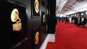 A view of the red carpet appears at the 61st annual Grammy Awards at the Staples Center on Sunday, Feb. 10, 2019, in Los Angeles. (Photo by Jordan Strauss/Invision/AP)