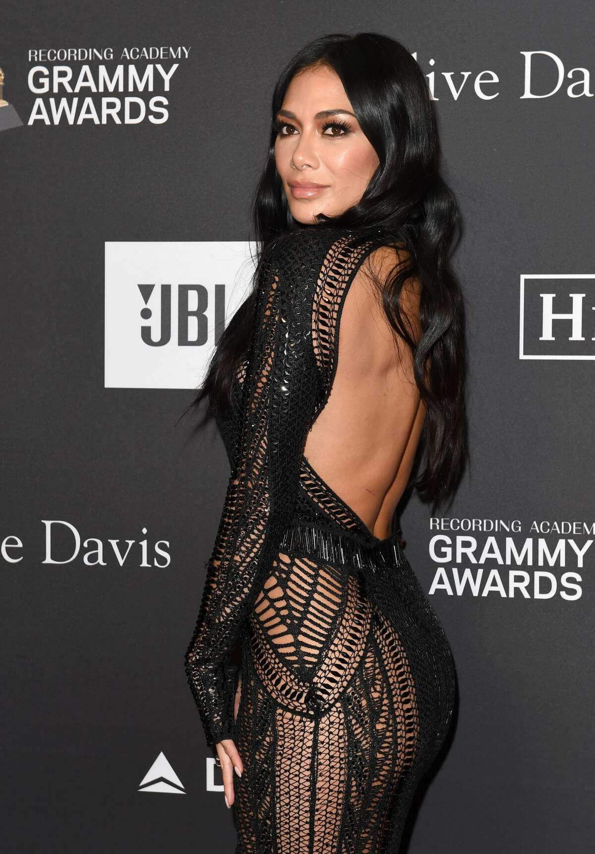 BEVERLY HILLS, CALIFORNIA - FEBRUARY 09: Nicole Scherzinger attends The Recording Academy and Clive Davis' 2019 Pre-GRAMMY Gala at The Beverly Hilton Hotel on February 09, 2019 in Beverly Hills, California. (Photo by Axelle/Bauer-Griffin/FilmMagic)