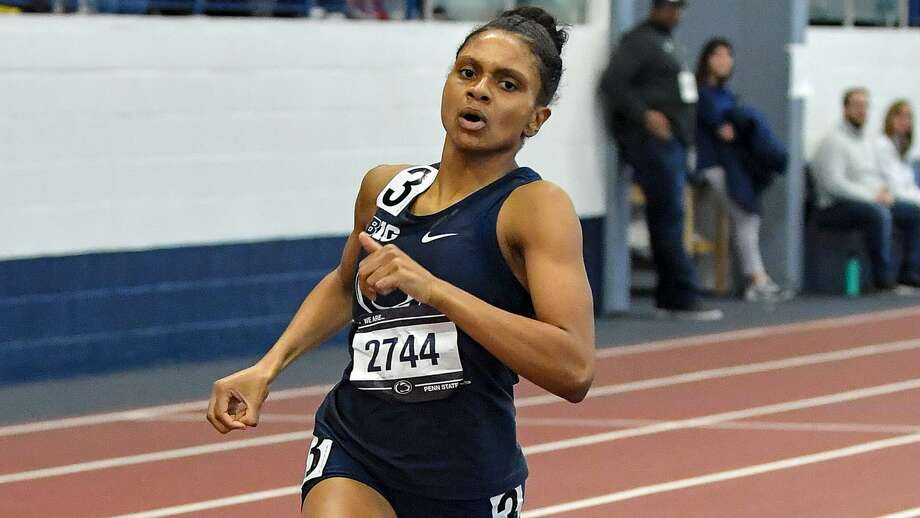 Penn State track star and Wilbur Cross graduate Danae Rivers qualified for the NCAA Division I national championships in the 800. Photo: Penn State Athletics / Penn State Athletics