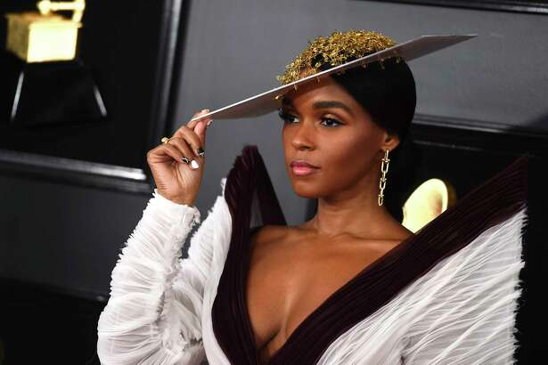 Janelle Monae arrives at the 61st annual Grammy Awards at the Staples Center on Sunday, Feb. 10, 2019, in Los Angeles. (Photo by Jordan Strauss/Invision/AP)