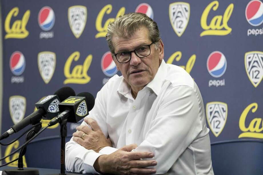 UConn head coach Geno Auriemma says that playing against opponents with different styles throughout the season helps the Huskies when it comes time for the Women's NCAA Tournament in March. Photo: John Hefti / Associated Press / Copyright 2018 The Associated Press. All rights reserved