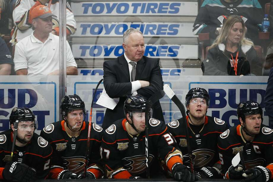 Randy Carlyle was in his third season as Anaheim's head coach. Photo: Jae C. Hong / Associated Press