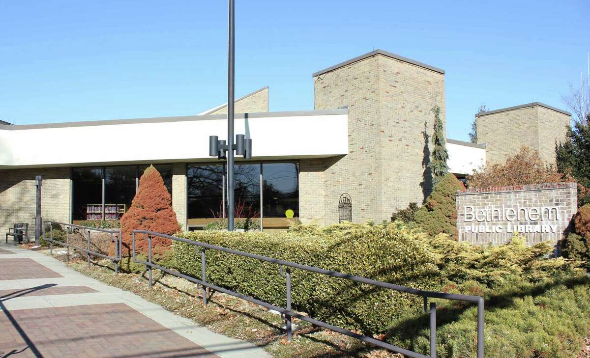 The Guilderland and Bethlehem, above, public libraries are closed until further notice, library staff said on Friday.