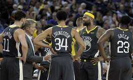 The addition of DeMarcus Cousins (0) to their lineup makes the Warriors even more problematic for opposing teams.