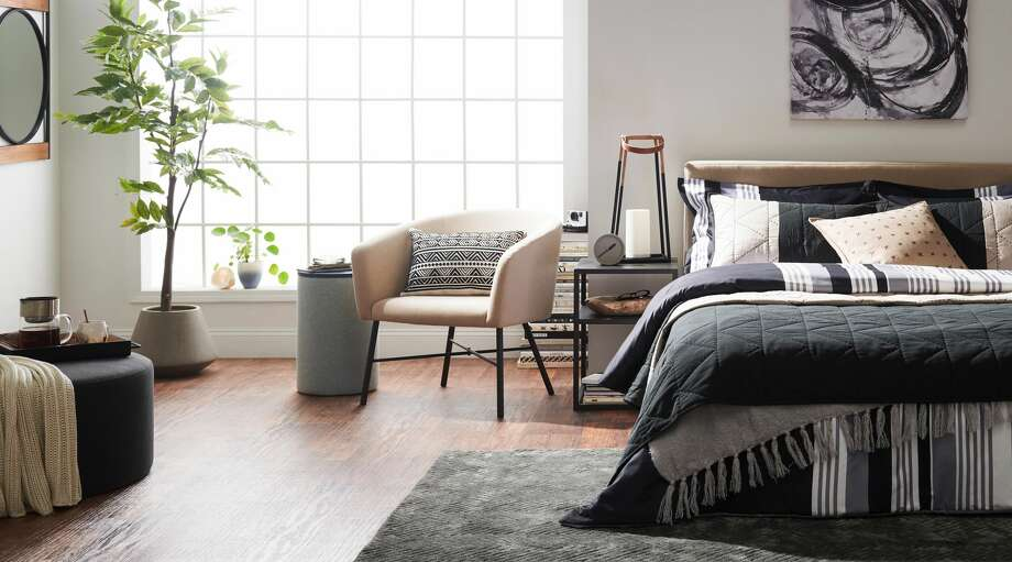Prices range from $700 to $899 for sofas, $599 to $649 for beds, $20 to $60 for barware, and $199 to $699 for indoor and outdoor dining tables and chairs. Photo: Walmart
