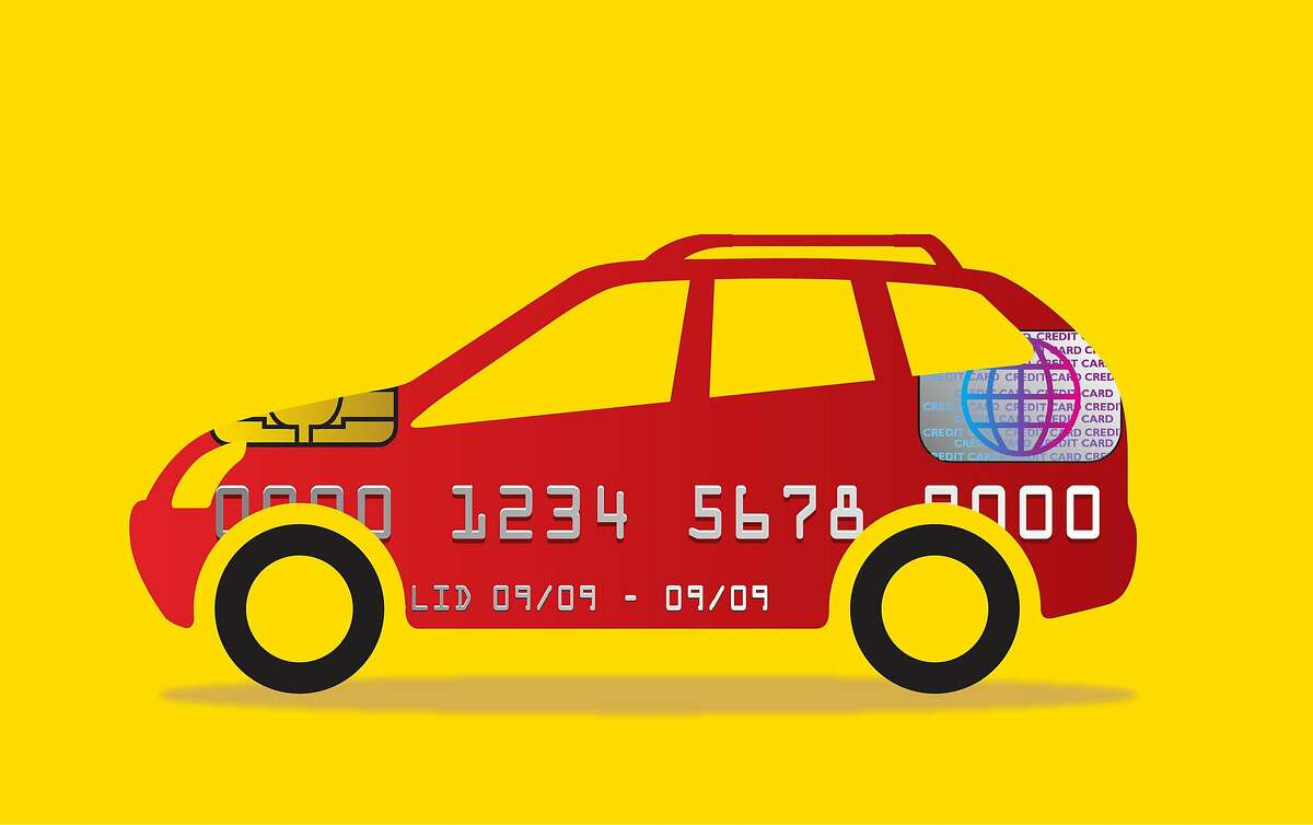 """Dollar Car Rental and its sister company, Thrifty Car Rental, are seeking to attract people without credit cards by eliminating a credit check and reducing the """"hold"""" amount they temporarily remove from a checking account. (Minh Uong/The New York Times)"""
