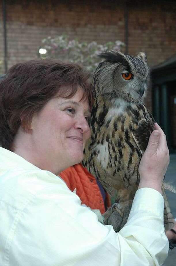 "Margaret Robbins, owner of Wild Birds Unlimited, a backyard bird feeding and nature store in Brookfield, is giving a talk, ""Bonding with Birds,"" at the Garden Club of Newtown's monthly meeting on Feb. 26 at Newtown's C.H. Booth Library. Photo: Garden Club Of Newtown / Contributed Photo"
