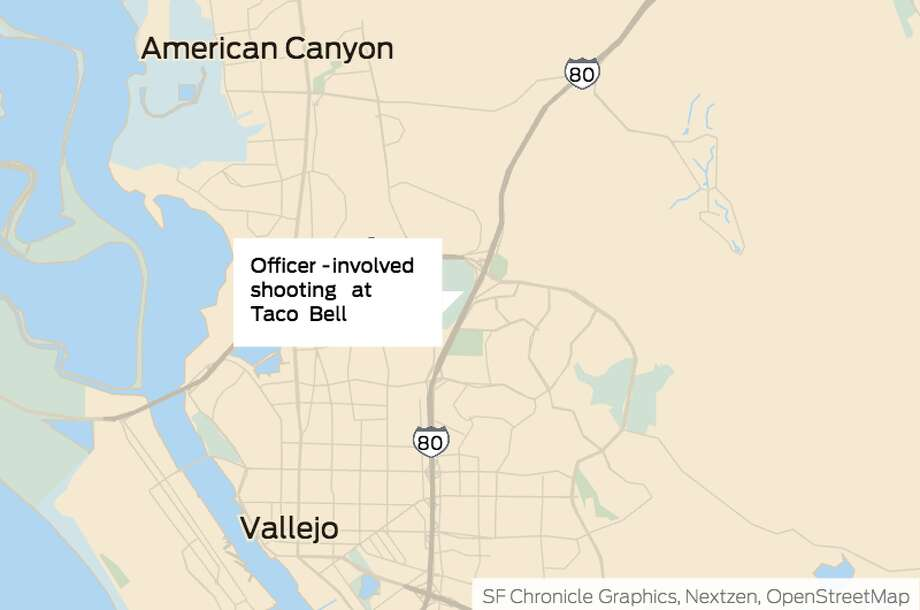 Authorities have identified a man killed in an officer-involved shooting over the weekend in the drive-through lane of a San Francisco Bay Area fast food restaurant.