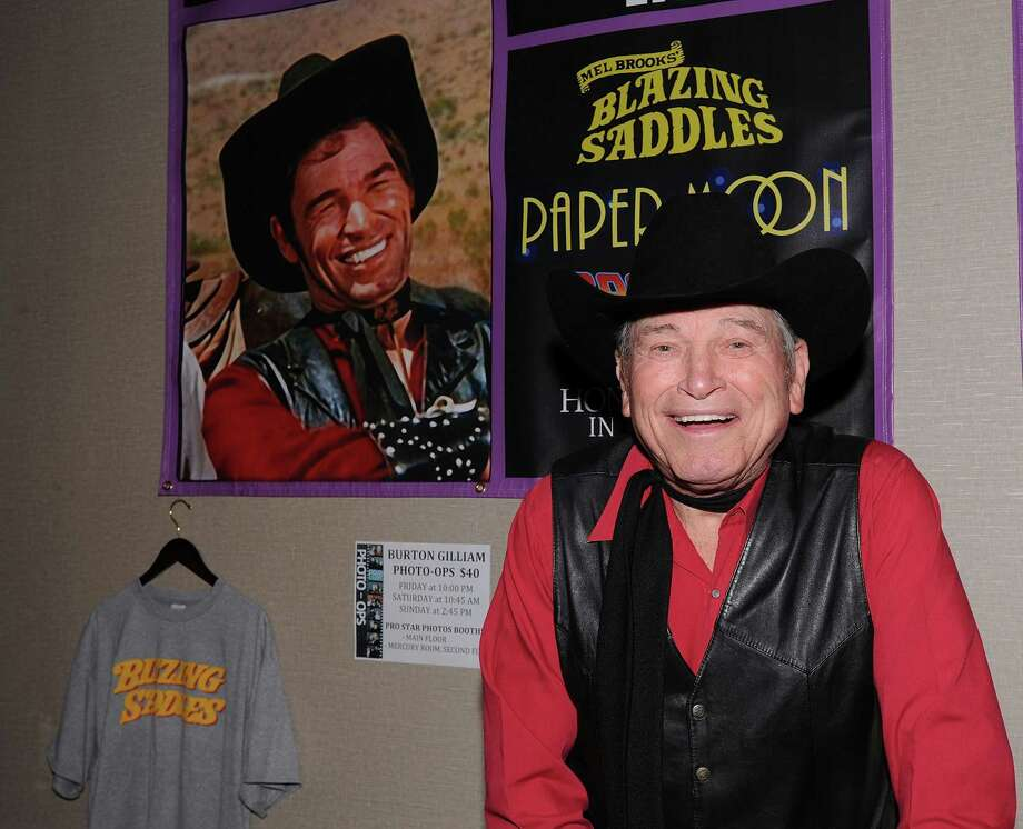 "Actor Burton Gilliam, who played Lyle in Mel Brooks' ""Blazing Saddles,"" will appear at The Ridgefield Playhouse for a Q&A after the film is screened on Feb. 22. The Q&A will be hosted by Ira Joe Fisher and WLAD's Bart Busterna. Photo: Contributed Photo"
