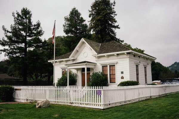 The original Dixie school still stands in Rafael, Calif.