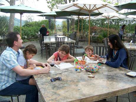 The Honig family at Honig winery's new tasting room patio. Photo: Honig Winery /