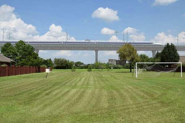 Houston-Dallas high-speed rail construction may begin in