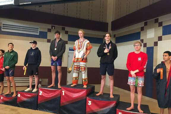 Spring Woods junior Samuel Jennings finished third in the 100-yard backstroke Feb. 2 at the Region IV-6A championships at Conroe ISD Natatorium. His time of 51.06 seconds earned a call-up to the UIL state meet.