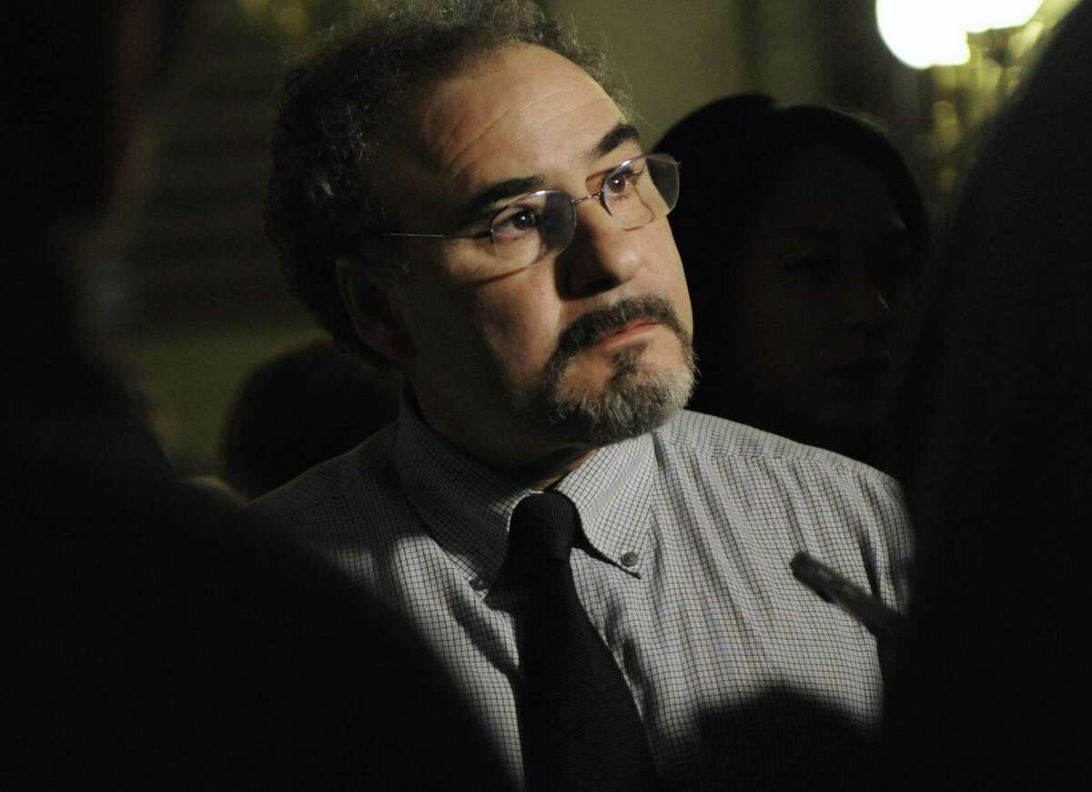 Sal Luciano, president of the state AFL-CIO, the umbrella organization for unionized workers, in a file photo.