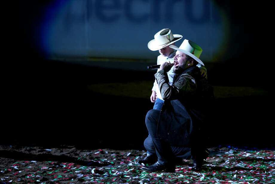 Regional Mexican artist El Fantasma will perform in Laredo for his first time in October. Photo: JC Olivera/Getty Images