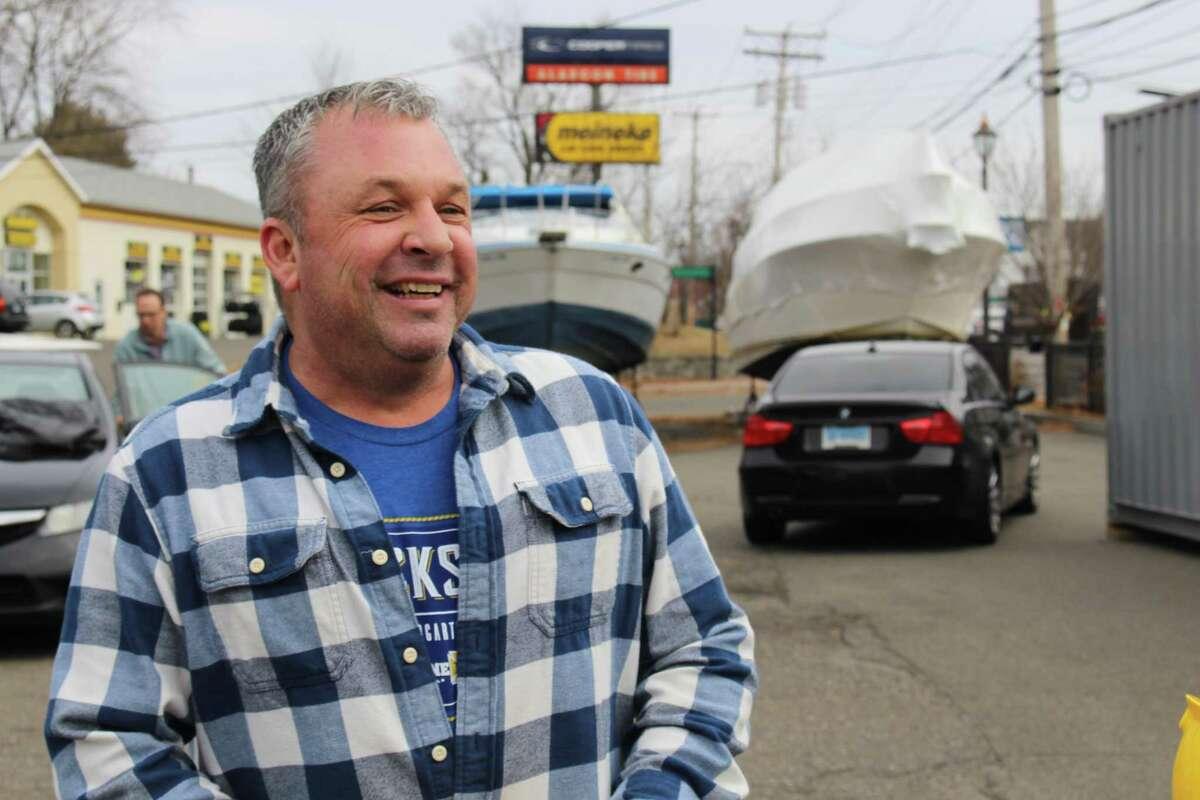 Dan Bagley, Co-owner of Dockside Brewery