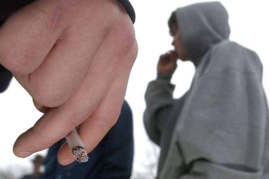 The youth smoking rate has been flat for three years, after a steady decline. Photo: Thad Allender / Lawrence (Kan.) Journal-World 2002