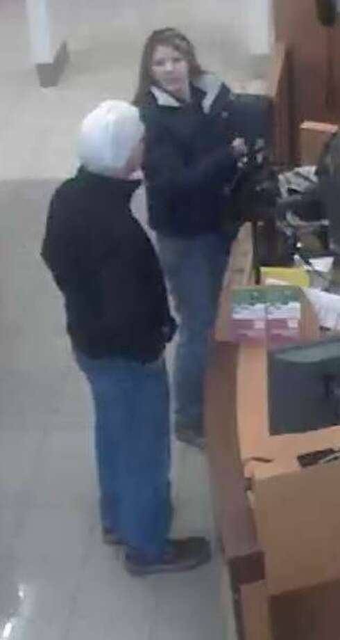 New Milford police are searching for this man who stole a woman's ring at Kohl's on Saturday. Photo: Contributed Photo