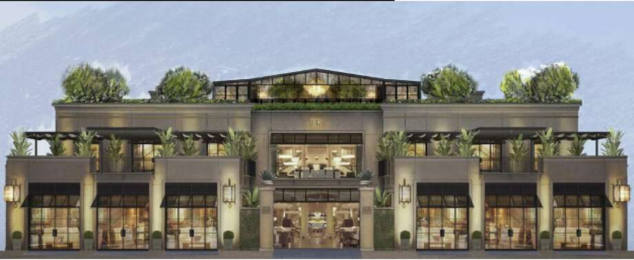 Stanford Shopping Center considered tearing down Macy's Men's store to replace it with two luxury stores. Photo: City Of Palo Alto
