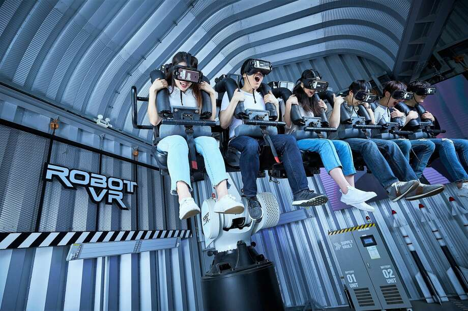 Houston is in the running to land a Singapore-based indoor virtual reality theme park, Legend Heroes Park. Photo: Courtesy