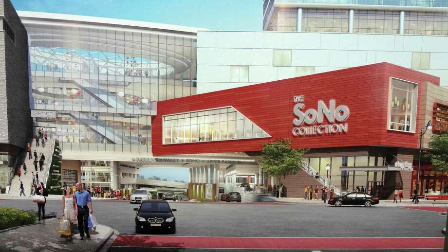 Arendering of the SoNo Collection mall scheduled to open in Norwalk. Photo: Contributed / Hearst Connecticut Media / Stamford Advocate