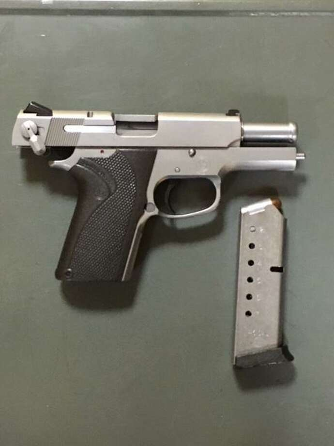 Ricky Vidal, 20, of New York City was found carrying a .45 caliber Smith & Wesson semiautomatic pistole without a permit in Stamford on Saturday, Feb. 9, 2019. Photo: Stamford Police / Contributed