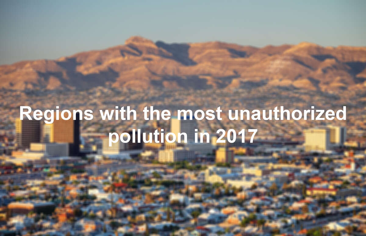Regions with the most unauthorized pollution in 2017 by approximate total pounds of air pollution. Unauthorized emissions are events in which an industrial facility releases large amounts of pollution into the air during a breakdown, process malfunction, operator error or maintenance work.