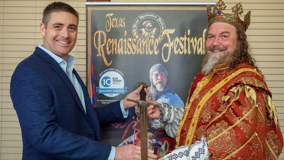 The Texas Renaissance Festival welcomes Joseph Bailey as the festival's new CEO and general manager. Photo: Texas Renaissance Festival