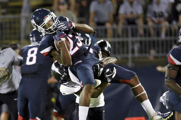 Wide receiver Keyion Dixon and the UConn football team will hold the first of 15 spring practices on Tuesday.