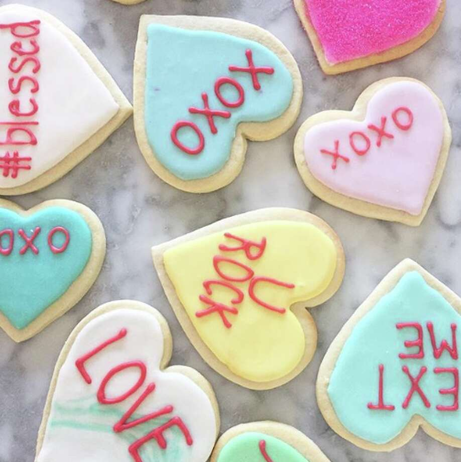 Valentine's Day delicacies from Andrea Greene at the CT Cookie Co. in Fairfield. Photo: Contributed Photo/Andrea Greene