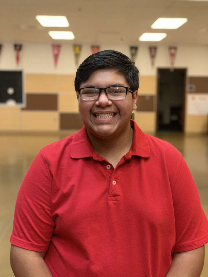 Caleb Aguirre, a Plainview High School A Cappella Choir member, will perform with the Texas All-State Tenor-Bass Choir in San Antonio this week. Photo: Courtesy Photo