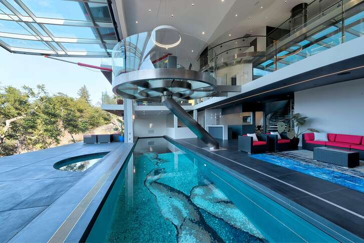 """Architect Malika Junaid's Los Altos Hills home takes inspiration from """"Star Trek"""" as well as sustainability principles."""