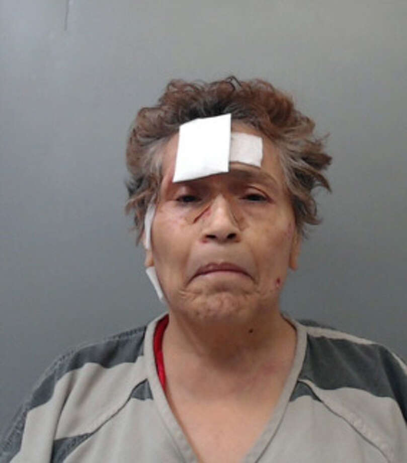 Teresa Colecio, 66, was charged with criminal trespass. Photo: Webb County Sheriff's Office