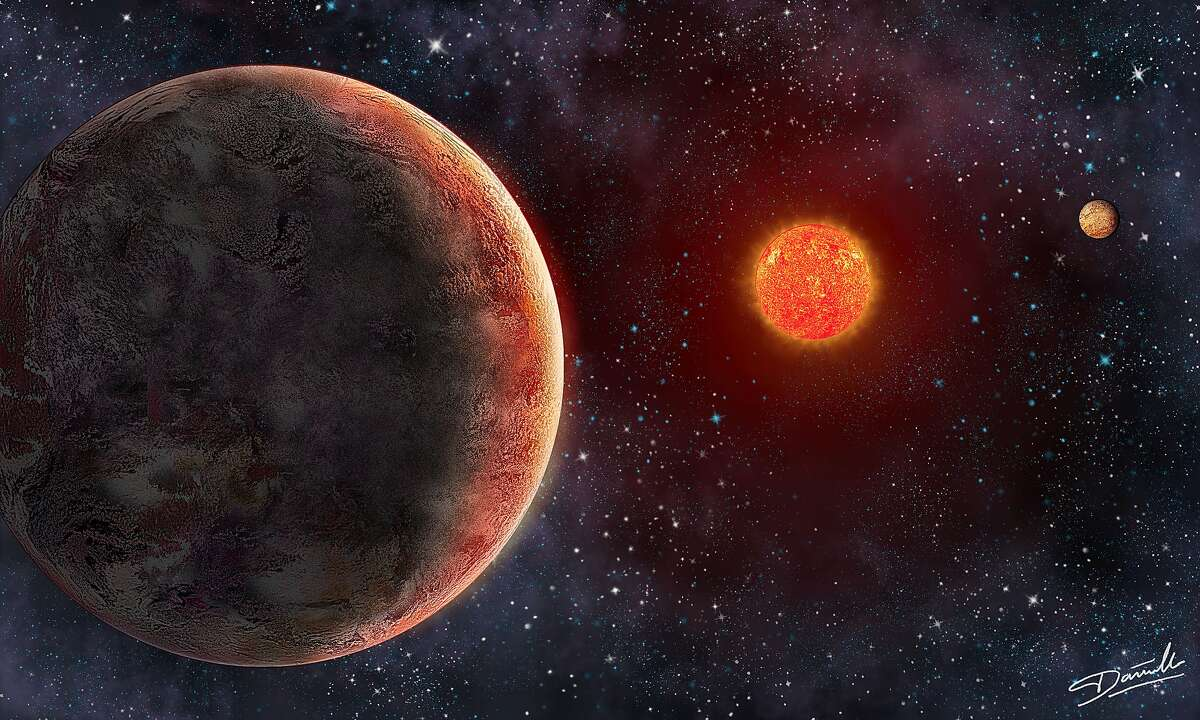 Artist's impression of the GJ 273 star system, where METI sent a message in 2017 in an attempt to contact intelligent extraterrestrials.