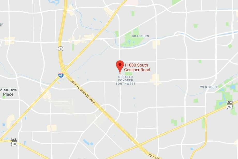 Google Maps view of the 11000 block of Gessner in southwest Houston. Photo: Google Maps