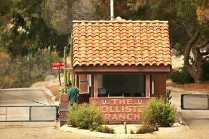 The Hollister Ranch gatehouse guard allows only owners and designated guests to enter the secluded oceanfront property. (Al Seib/Los Angeles Times/TNS)