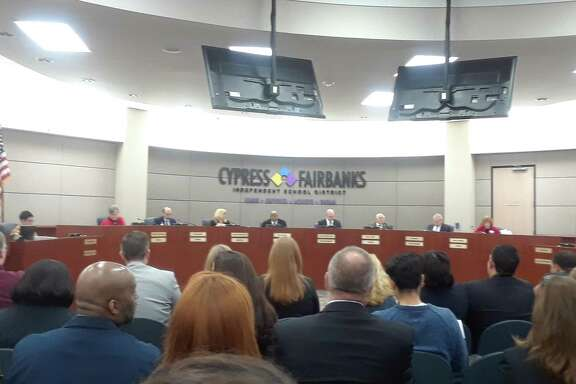 During the regular of the Cy-Fair Board of Trustees on Feb. 11, 2019, the board approved an election to be held on May 4 for a $1.76 billion bond.