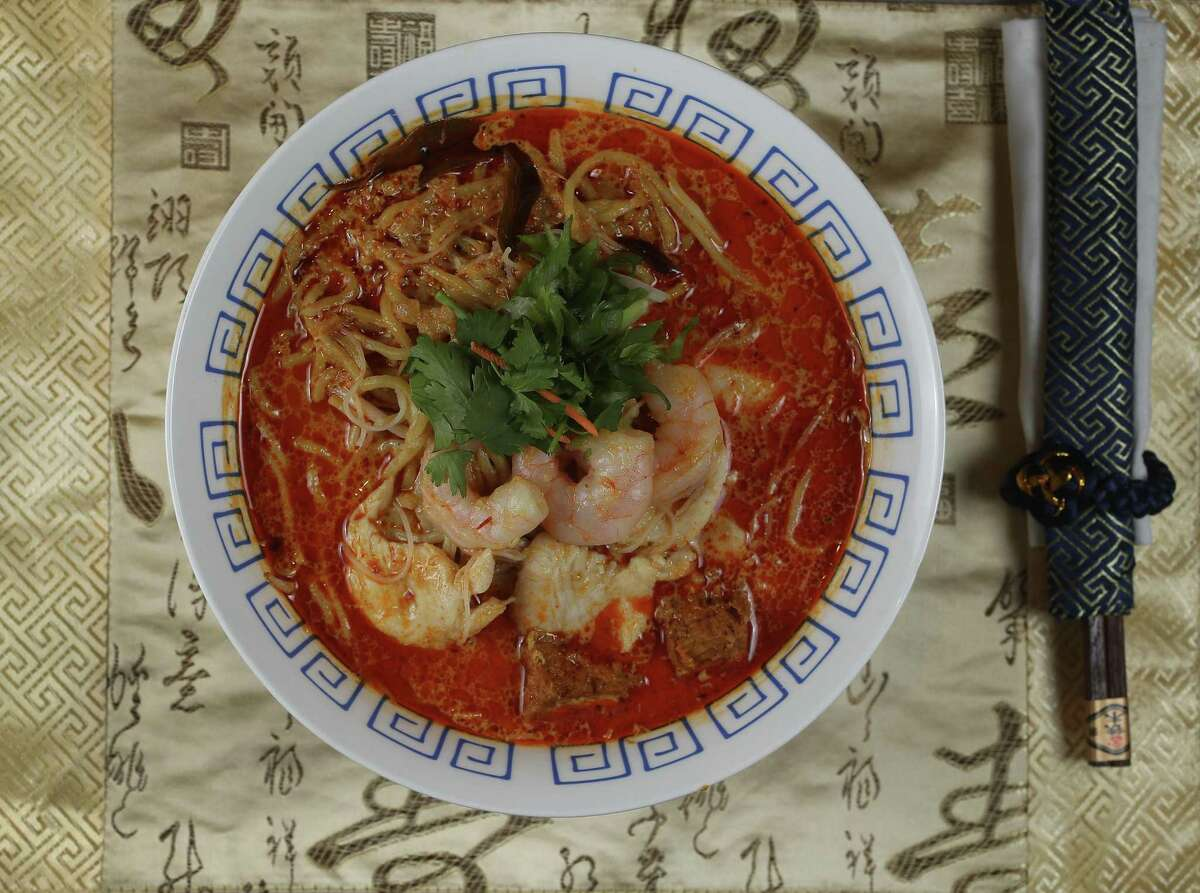 Chef-Owner Alex Au-Yeung's Curry Laska at Phat Eatery restaurant in Katy.